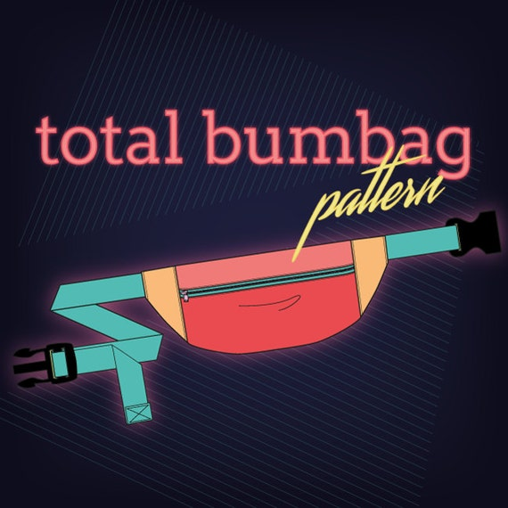 Total and Lil Bumbag PDF Pattern - for adults and kids