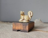 Vintage collectible Wade squirrel from Rose tea English ceramic animal figurine FREE SHIPPING Active