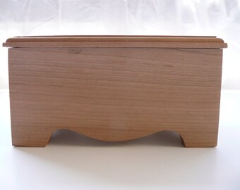 Cherry wood box 5""