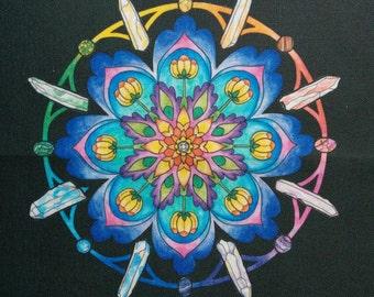 Prismatic art canvas patch