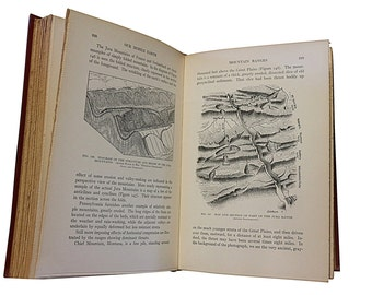 1926 Geology Classic Book, Our Mobile Earth, San Francisco, Yokohama, Earthquakes, Maps, by Reginald Aldworth Daly