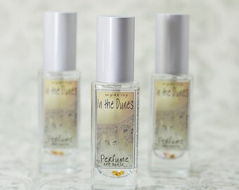 In the Dunes Perfume | A NEW Summer Fragrances of Driftwood, Vanilla, Dune Grass, Coconut Milk, and Musk