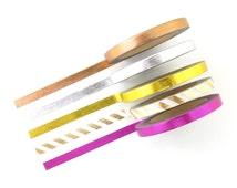 Skinny Foil Washi Tape Set - 5 Rolls - 5mm x 10 Metres - Gold Washi Tape - Slim Washi Tape - Washi Tape Pack - Thin Washi Tape - Australia