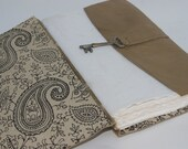 Handbound Leather Journal by Binding Bee