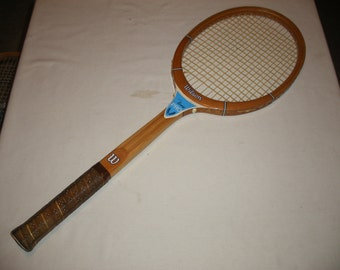 Vintage Wilson Chris Evert Pro Wooden Tennis Racquet