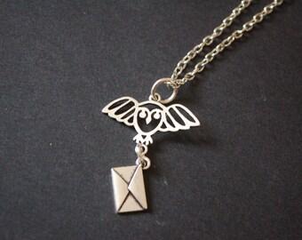 Hedwig letter Harry Potter necklace