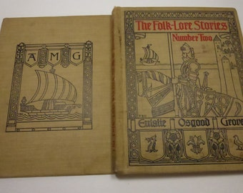 Antique Book The Folk-Lore Stories Number Two by Eulalie Osgood Grover
