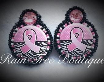 Breast Cancer Awareness Zebra Print