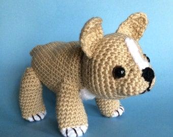 FRENCH BULLDOG PUPPY Pdf crochet pattern (English only)