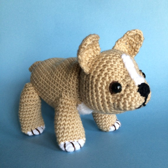 French Bulldog Amigurumi Pattern Dog Breeds Picture