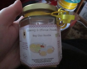 Vanilla Patchouli Soy Wax Candle 300g