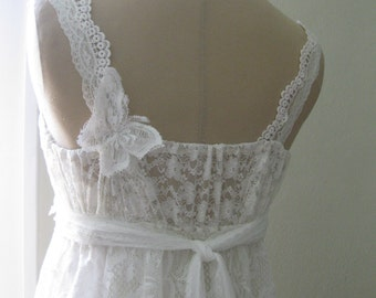 Butterfly Simply Happy Hippie Wedding Dress, Hippie wedding Dress, Boho wedding dress, Beach wedding Dress, Lace wedding dress, Fairy dress