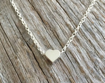 Sweetheart Necklace - Sterling Silver Necklace