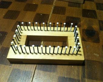 2 x 4 Maple Rectangle Loom