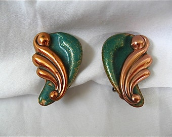 Vintage Matisse Earrings