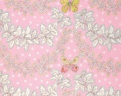Butterfly Garden Butterfly Garland Pinkx - PWDF225 Dena Designs Fishburn 100% Quilters Cotton Available in Yards, Half Yards. Fat Quarters