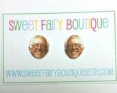 Bernie Sanders stud earrings
