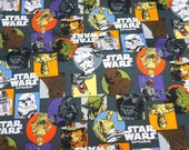 Star Wars Fabric  50 cm by 106  cm or 19.6 by 42 inches