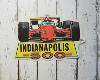 Pennant Vintage Pennant Racing Pennant Indianapolis 500 Race Pennant 1970s Pennant Car Pennant