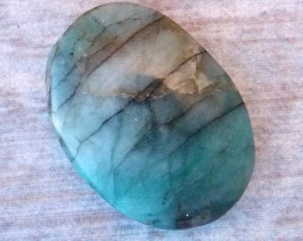 Emerald in Matrix Cabochon