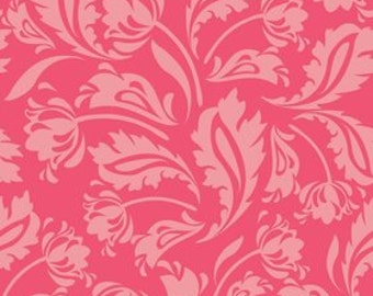SALE ~ Floribella ~ Pink Damask print ~ Emily Taylor for Riley Blake Designs ~ 100% woven cotton by the yard