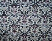 1 yard - Glam in Mocha - Home Decor Cotton Canvas