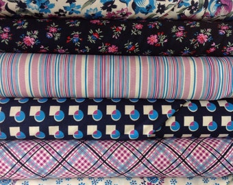 Free Spirit Fabrics Denyse Schmidt Shelburne Falls Fat Quarter Set - 6 Fat Quarters