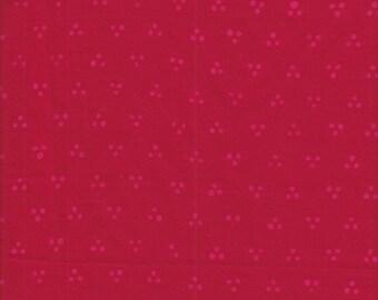 Hoffman ME + YOU Indah Batik Tri-Dot in Geranium - Half Yard
