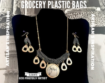 Eco Friendly Necklace Set