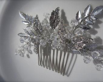 Bridal Hair Comb,Wedding Hair Accessories ,Crystal Hair Clip, Rhinestone Hair Piece, Bridal crystal comb