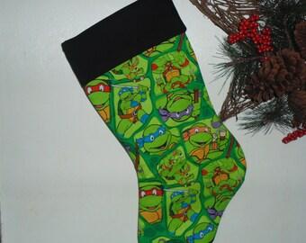Ninja Turtles  Christmas stocking