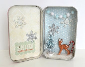 Tiny Tin Winter Wonderland ~ Oh, Deer!
