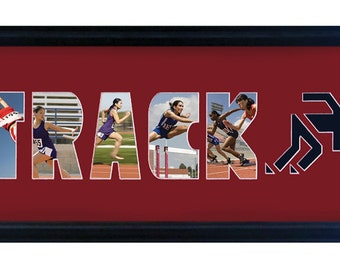 TRACK MAT Custom Photo ONLY 8x20