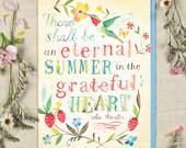 Eternal Summer - Greeting Card