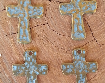 Brass Cross Embellishments