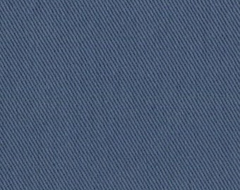 10 oz Brushed COTTON Twill Upholstery Slipcover Fabric SLATE BLUE Home Decor Slipcovers Clothing