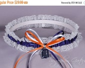 Detroit Tigers Lace Wedding Garter