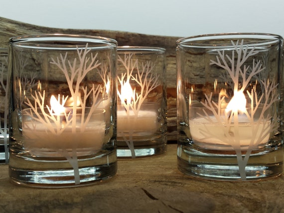 Etsy Glass Candles Holder