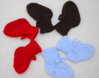Baby Boy Booties 3 Months