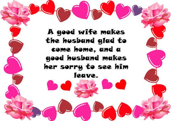 Good husband wife quotes printables clipart png clip art words text Digital graphics Image marriage quotes Download printable quotes hearts