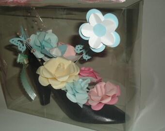 Flower High Heel Shoe Mother's Day  Gift
