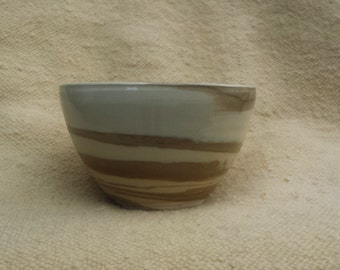 Brown-Beige Bowl 15