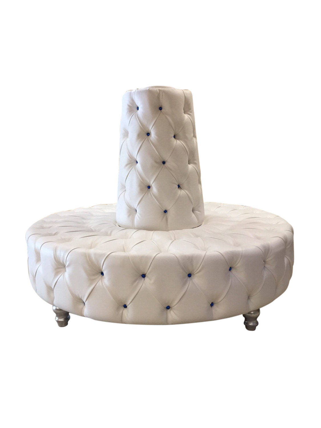 Round Sofa Circular Sofa Tufted Round Banquette Lobby Booth
