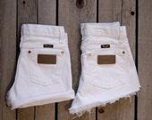 RESERVED Vintage WRANGLER Shorts lot of 6 wholesale white shorts