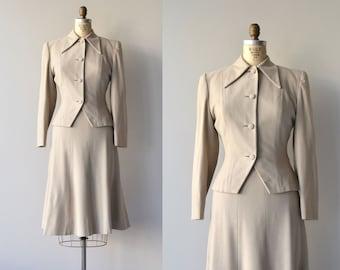 Wheatstone wool suit | vintage 1950s suit | wool 50s suit