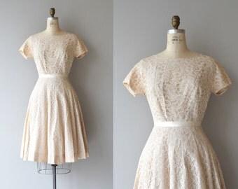 Little Sugar dress | vintage 1950s dress | lace 50s dress