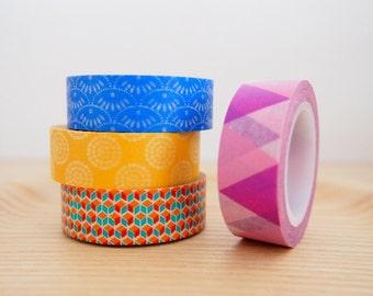 Paper Washi Tape - Pretty Patterns