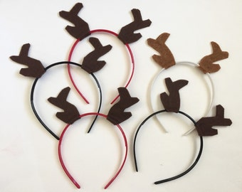 Antler Headband Pack, Photo Booth Props, Antlers, Lumberjack Party, Woodland Party, Party Favors