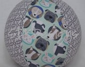 Fabric Balloon Cover - Doggie Ball TOY - For people and pets