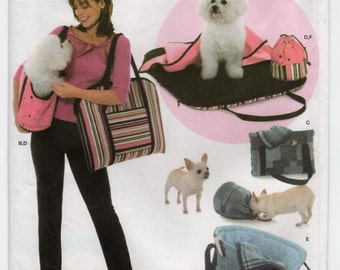 Simplicity 4716 - Dog Accessories Sewing Pattern - Pet Bag Sewing Pattern - Uncut, FF